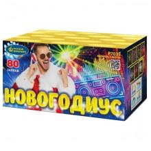 "Батарея салютов Новогодиус Р7033 (0,6"" х 80)"