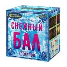 """Батарея салютов Снежный бал Р7319 (0,8"""" х 30)"""