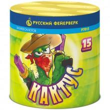 """Батарея салютов Р7015 Кактус (0,6"""" х 15)"""